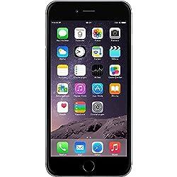 """Apple iPhone 6 Plus - Smartphone 5.5"""" (Bluetooth, Wi-Fi, dual-core 1.84 GHz, 1GB di RAM, 16 GB Memoria interna, 8 MP fotocamera / 1.3 MP, iOS 9), Grigio - (Ricondizionato Certificato) [include spina europea]"""