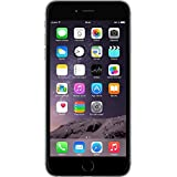 Apple iPhone 6+ Smartphone entsperrt  (11,4 cm (4.7 Zoll), 16 GB interner Speicher, iOS 8) (Refurbished von Apple) grau