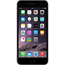 "Apple iPhone 6 Plus - Smartphone libre iOS, Pantalla 5.5"", 16 GB (Dual-Core 1.4 GHz, 1 GB de RAM, cámara de 8 MP), (Reacondicionado Certificado por Apple), Gris (Grey)"