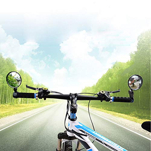 AOLVO Fahrradspiegel, 1 Paar, verstellbar, 360 Grad drehbar,...