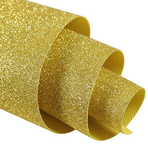Gangläufer, Hochzeit Insel Läufer Indoor Teppich Läufer für Hochzeiten, Partys, Galas (Color : Gold, Size : 1.38m×15m) ()