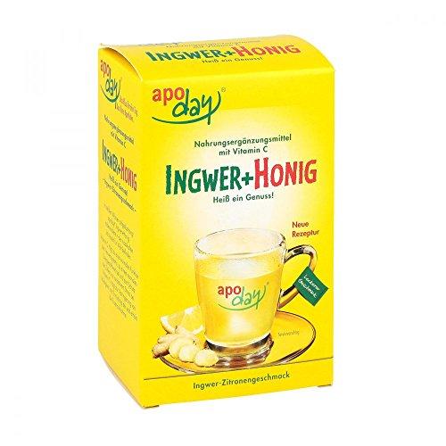 Apoday Ingwer Honig Beutel, 10 St. Honig-zitrone-ingwer