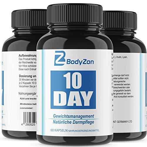 10 Day Gewichtsmanagement und Darmreinigung, Detox, Entgiftung, Diät, Abnehmen Darmgesundheit