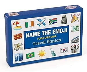 Bubblegum Stuff BG1801 Name The Emoji - Juego de Cartas de Viaje, Nailon/A