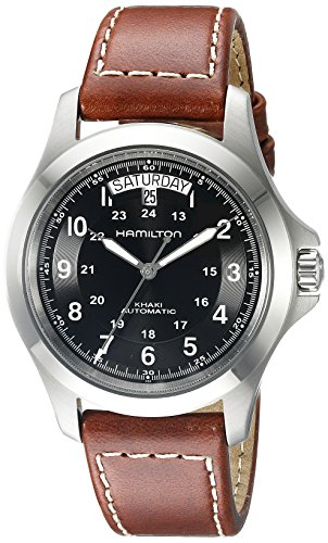 Hamilton Khaki Field King Auto Homme 40mm Automatique Date Montre H64455533
