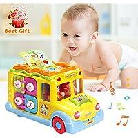 ACTRINIC Pädagogisches intellektuelles kleines Schulbus-Spielzeug preisvergleich bei kleinkindspielzeugpreise.eu