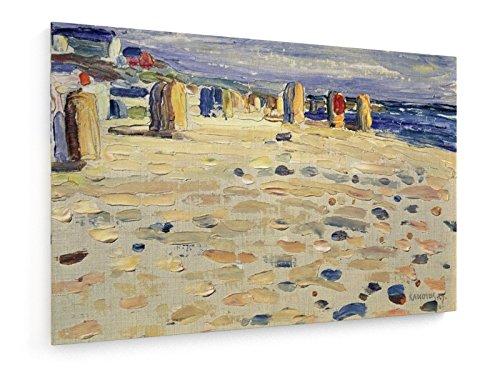 Vassily Kandinsky - Wicker Beach Chairs - 1904 - 120x80 cm - weewado - Belle stampe d