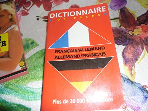 Dictionnaire de poche français-allemand premier prix