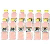 Font Vella Levité Limonada de Agua Mineral Natural con Zumo de Limón y Frambuesa - Pack de 12 Botellas x 0.5 l - Total: 6 l