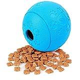 lovecabin Cibo per Cani Perdite Palla Pet Spuntino Distributore di Alimentazione Miglioramento Intellettuale Giocattolo Cibo Perdite Formazione Controllo degli Alimenti Palla di Gomma