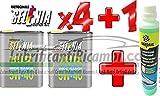 Olio Motore Selenia WR 5W40 DIESEL Originale FIAT ALFA ROMEO LANCIA - 1 x BARDAHL Windscreen Cleaner Concentrated Liquido Lavavetri Concentrato Antigelo -20°C a 70°C Pulisce e Sgrassa 250 ML