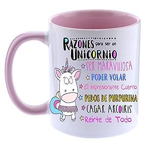 FUNNY CUP Taza Unicornio Color.