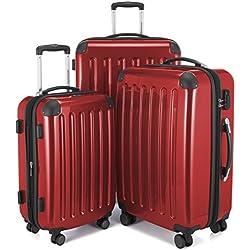 Hauptstadtkoffer Juego de maletas, rojo (rojo) - 82782012
