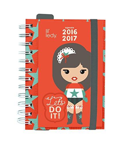 Grupo Erik Editores Lil Ledy - Agenda escolar dp 2016/2017, 11.4 x 16.5 cm