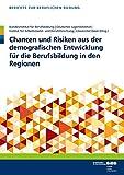 Chancen und Risiken aus der demografischen Entwicklung für die Berufsbildung in den Regionen (Berichte zur beruflichen Bildung)