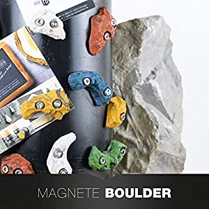 3ER SET Boulderstein Klettergriff aus dem Klettersport mit Magnet