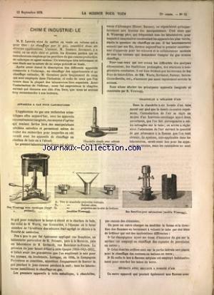 SCIENCE POUR TOUS (LA) [No 39] du 23/09/1876