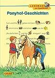 LESEMAUS zum Lesenlernen Sammelbände: Ponyhof-Geschichten zum Lesenlernen: Bild-Wörter-Geschichten – mit Bildern lesen lernen