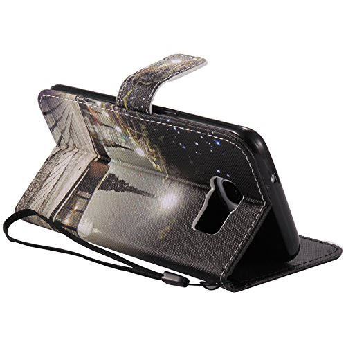 S7Edge Glitzer Spiegel TPU Fall [mit 1Stylus Pen]–Newstars Fashion Schöne Luxus 3D Handgefertigt Diamant Glitzer Bling Soft Shiny Sparkling mit Glas Spiegel Backplate Schutzhülle für Samsung Galax B- Castle Series 1