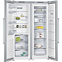 Siemens KA99FPI30 nevera puerta lado a lado - Frigorífico side-by-side (Independiente, Acero inoxidable, American door, 537L, SN, ST, T, 42 Db)