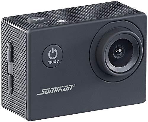 Somikon Mini Actioncam: HD-Action-Cam DV-1212 V2 mit Unterwasser-Gehäuse, IP68, bis 30 m (HD Kamera)