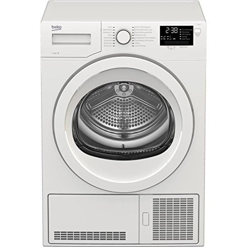 Beko DCY824 Autonome Charge avant 8kg B Blanc sèche-linge - Sèche-linge (Autonome, Charge avant, Condensation, Blanc, boutons,...