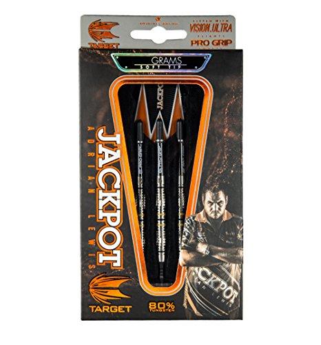 Target Darts Adrian Lewis Dartpfeile 80% Soft Tip, Adrian Lewis 80% 20g Soft Tip Darts, 20g -