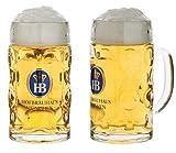 Bierkrug Hofbräuhaus München HB Krug 1 Liter King Werk KI 1000074