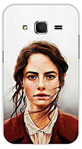 Crazy Beta BEAUTIFUL GIRL 3D DESIGN Printed Back Cover For Samsung Galaxy Core