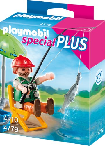 Playmobil 4779 - Angler mit großem Fisch -