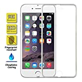 iPhone 7 Protection écran, Film Protecteur Plein écran (D'or) en Verre trempé haut de gamme Full Screen Premium Tempered Glass Screen Protector pour Apple iPhone 7 D'or (Compatible fonction 3D Touch)