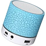 Happytech With Mini Bluetooth Multimedia Speaker System With Pen Drive/Micro-SD Card Slot Apple IPad Wi-Fi And All Other Smartphones - Rugby Mini And Colours May Vary