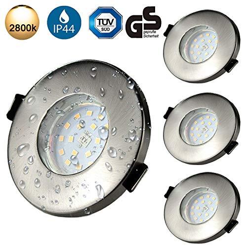 Focos Empotrables GU10 LED de Baño IP44 Kambo 6W Equivalente a Incandescente...