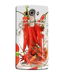 PrintVisa Hot Chillis 3D Hard Polycarbonate Designer Back Case Cover for LG G4 :: LG G4 Dual LTE :: LG G4 H818P H818N :: LG G4 H815 H815TR H815T H815P H812 H810 H811 LS991 VS986 US991