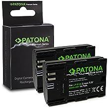 2x Premium Bateria LP-E6   LP-E6N para Canon EOS 5D   5D Mark II   5D Mark III   5DS   5DS R   60D   60Da   6D   70D   7D   7D   7D Mark II   80D   Mark II   Mark III   R 5D   XC10