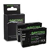2x Premium Batteria LP-E6   LP-E6N per Canon EOS 5D   5D Mark II   5D Mark III   5DS   5DS R   60D   60Da   6D   70D   7D   7D   7D Mark II   80D   Mark II   Mark III   R 5D   XC10