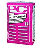 PCI FT FUGENBREIT Fugenmörtel Zementgrau 25 kg Sack - zum Verfugen von Belägen aus Steingutfliesen - für Innen- und Außenbereiche