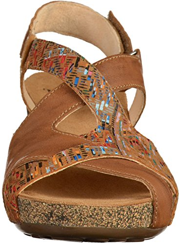 Think! 2-82574 Damen Sandalen Braun(Lion Kombi)