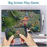 HDMI Adapterkabel, TedGem HDMI AV Adapter, HDMI Sync Screen HDMI Anschluss Kompatibel mit is 10 & is 11, Keine Notwendigkeit für Hotspot-Setup, Keine WiFi-Umgebung, Plug-and-Play
