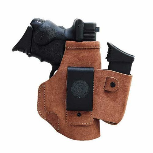 Galco Walkabout Inside The Pant Holster for 1911 3-Inch Colt, Kimber, Para, Springfield (Natural, Right-hand) by Galco Gunleather