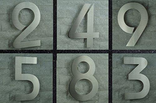 Designer Briefkasten / Mailbox / Modell 333 Edelstahl 18/0 mit Schutzlackierung und Zeitungsfach / NUR 1 x VERSANDKOSTEN FÜR ALLE BESTELLUNGEN ZUSAMMEN !!! - 9