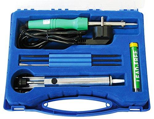 McPower 'lötset LK de 3, maletín de plástico, 7Piezas, Incluye 230V/30W de Soldador