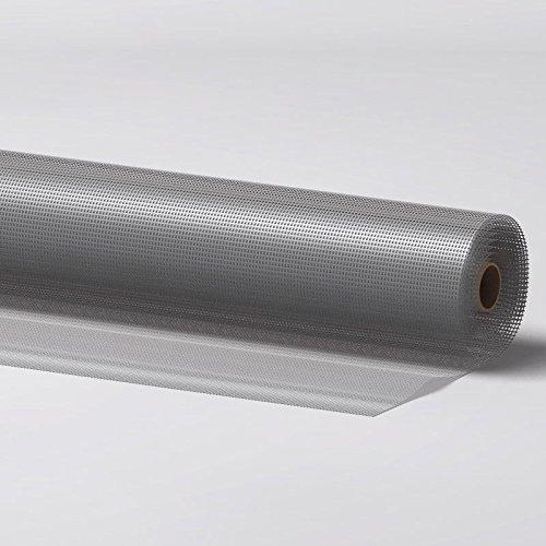 Fliegengitter für Fenster und Türen aus Aluminium 120 x 250 cm kürzbar rostfrei luftdurchlässig (Fliegen 6 Licht)