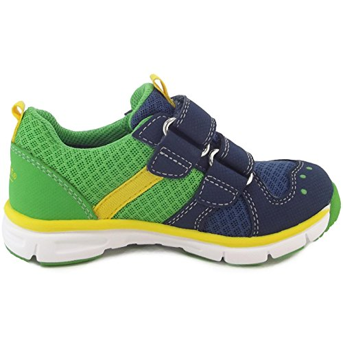 Superfit Gore-Tex Lumis Mini, Baskets mode petit enfant bleu/vert (water/kombi)