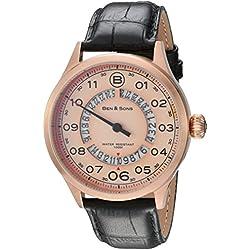 Ben & Sons-Herren-Armbanduhr-BS-10017-RG-016