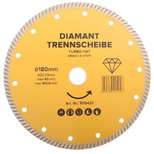 Diamanttrennscheibe TURBO Größe 180mm
