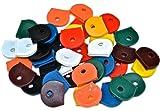 Bulk Hardware Assortiment de capuchons colorés pour clés, 40 pièces
