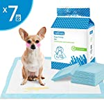 Nobleza - 70 x Ultra Absorbent Dog Training Pads Puppy Toilet Pee Mat, 60 * 60cm, Pack of 70