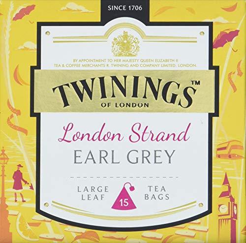 Twinings London Strand Earl Grey, 4er Pack (4 x 38 g)