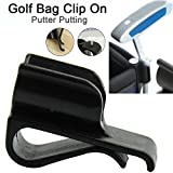 Sue Supply Putterhalter Putter Clip fürs Golfbag, 4-er Set